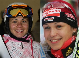 Екатерина Илюхина и Магдалена Нойнер