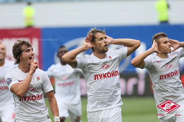 Победа красно-белых в дерби цска - Спартак